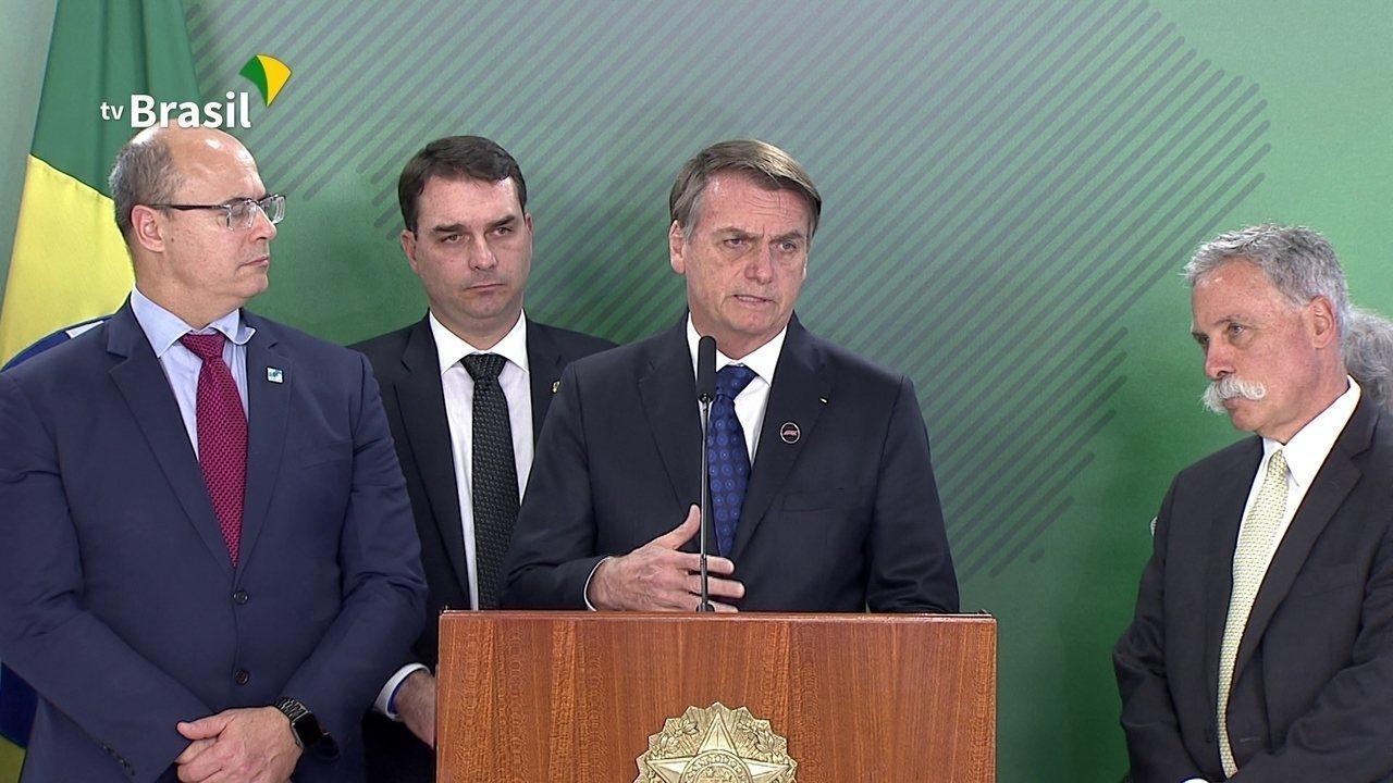 '99% de chance de termos a Fórmula 1 a partir de 2021 no Rio de Janeiro', afirma Bolsonaro
