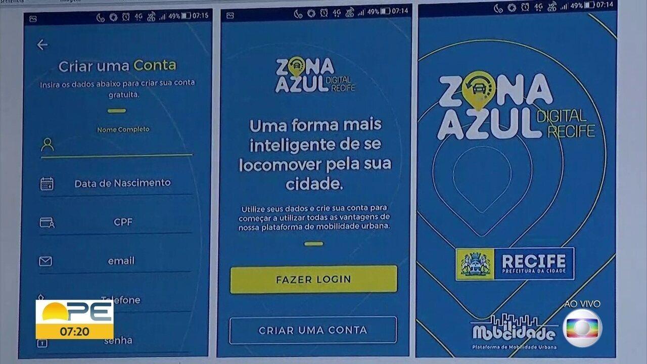 Aplicativo do estacionamento Zona Azul é disponibilizado para download gratuito