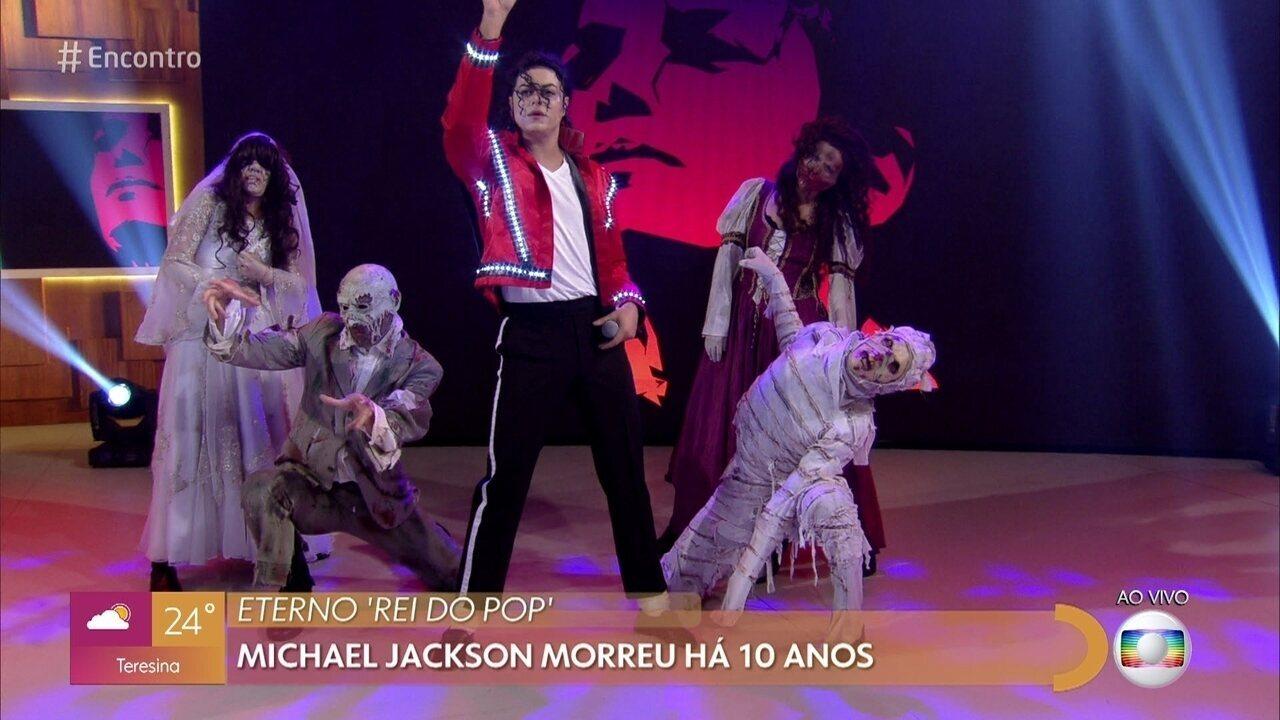 Rodrigo Teaser se apresenta com 'Thriller'