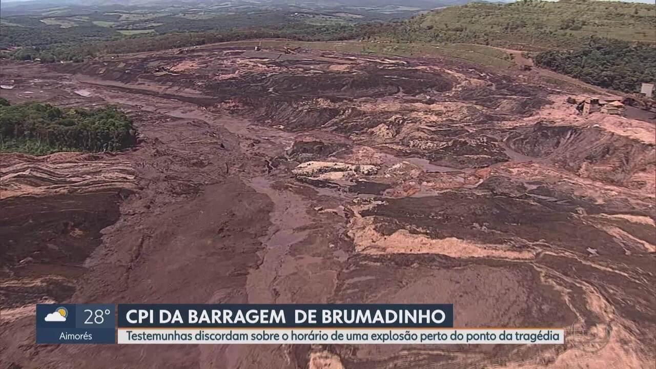Polícia diz que explosivos foram detonados em mina antes de a barragem da Vale se romper