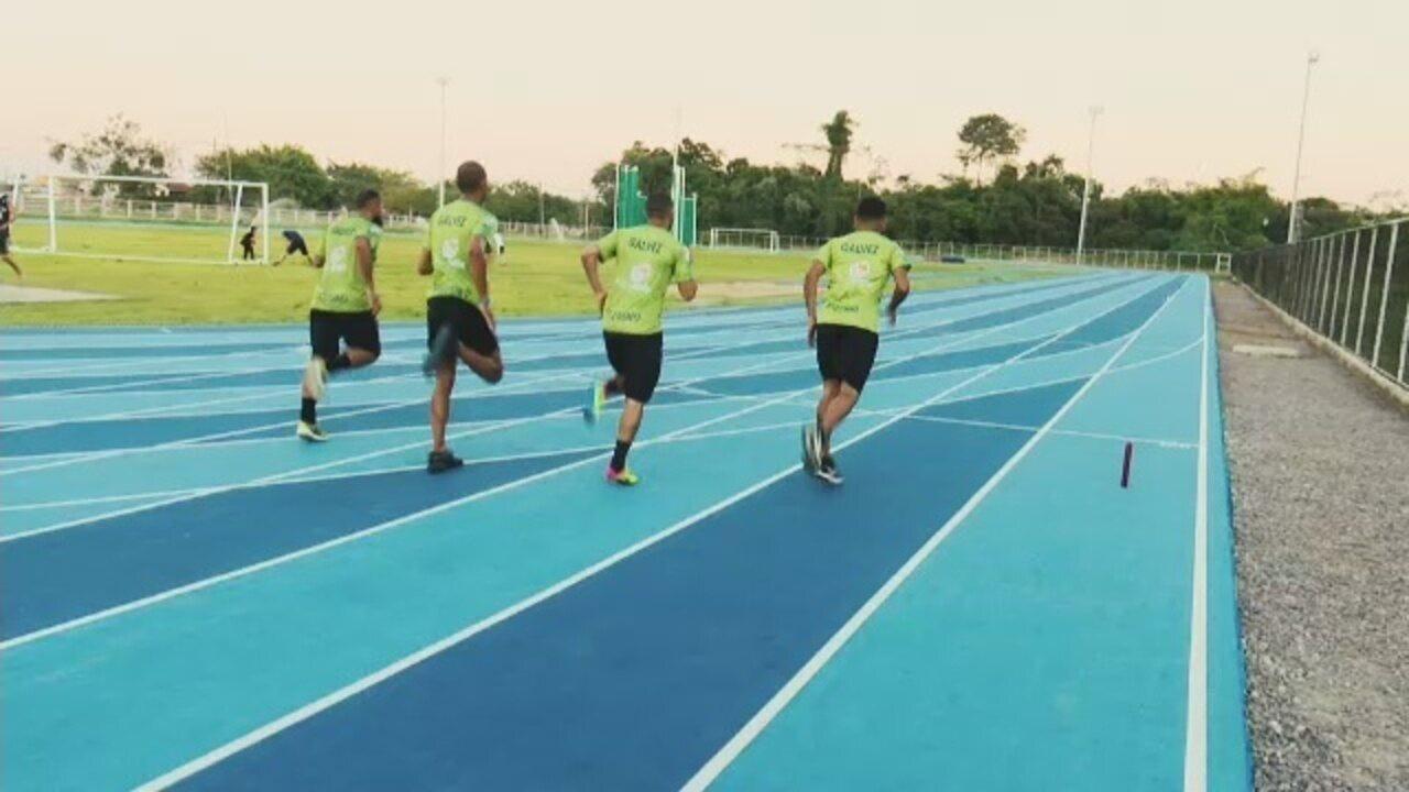 Equipe de atletismo de Galvez se prepara para Norte-Nordeste de Atletismo, no Recife