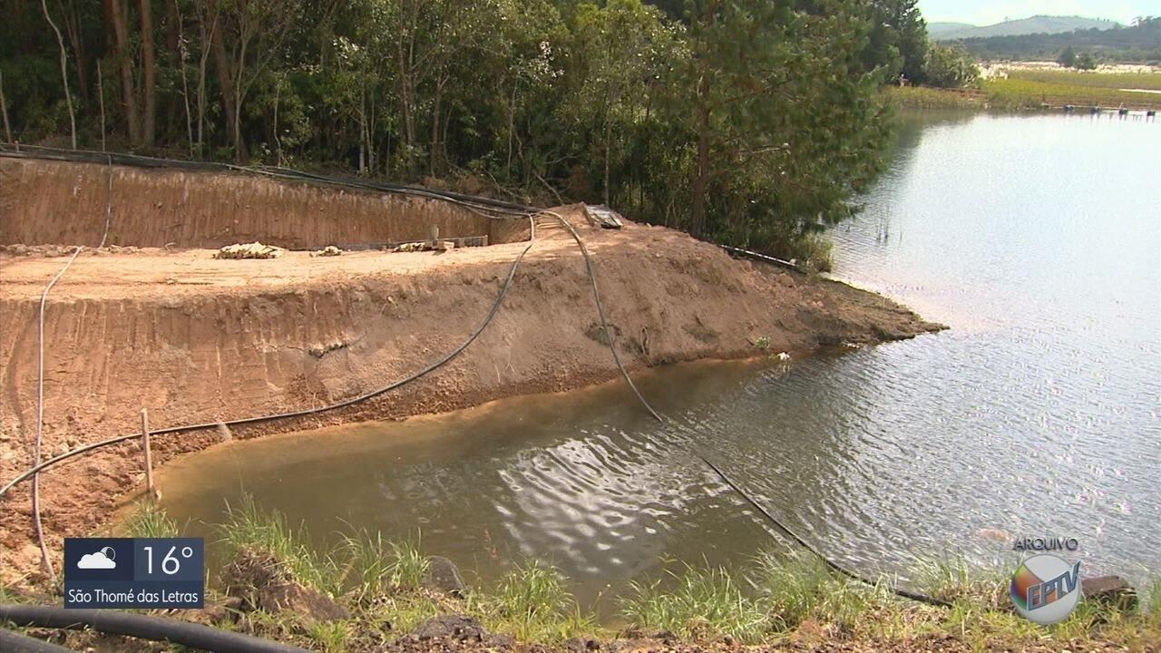 Obras de reparo em barragem de rejeitos de lixo nuclear são concluídas na INB, em Caldas