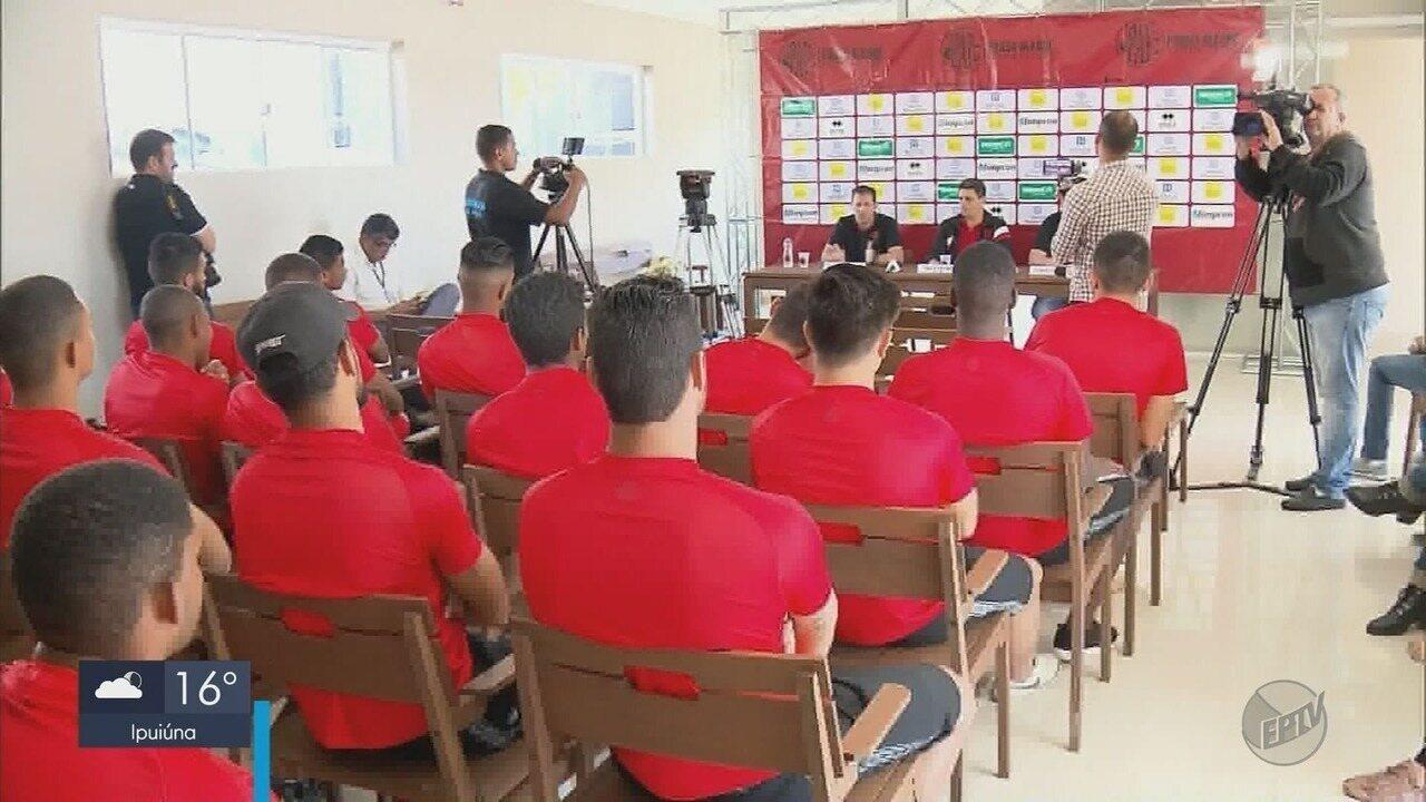 Pouso Alegre FC apresenta elenco para disputa da Segunda Divisão do Mineiro