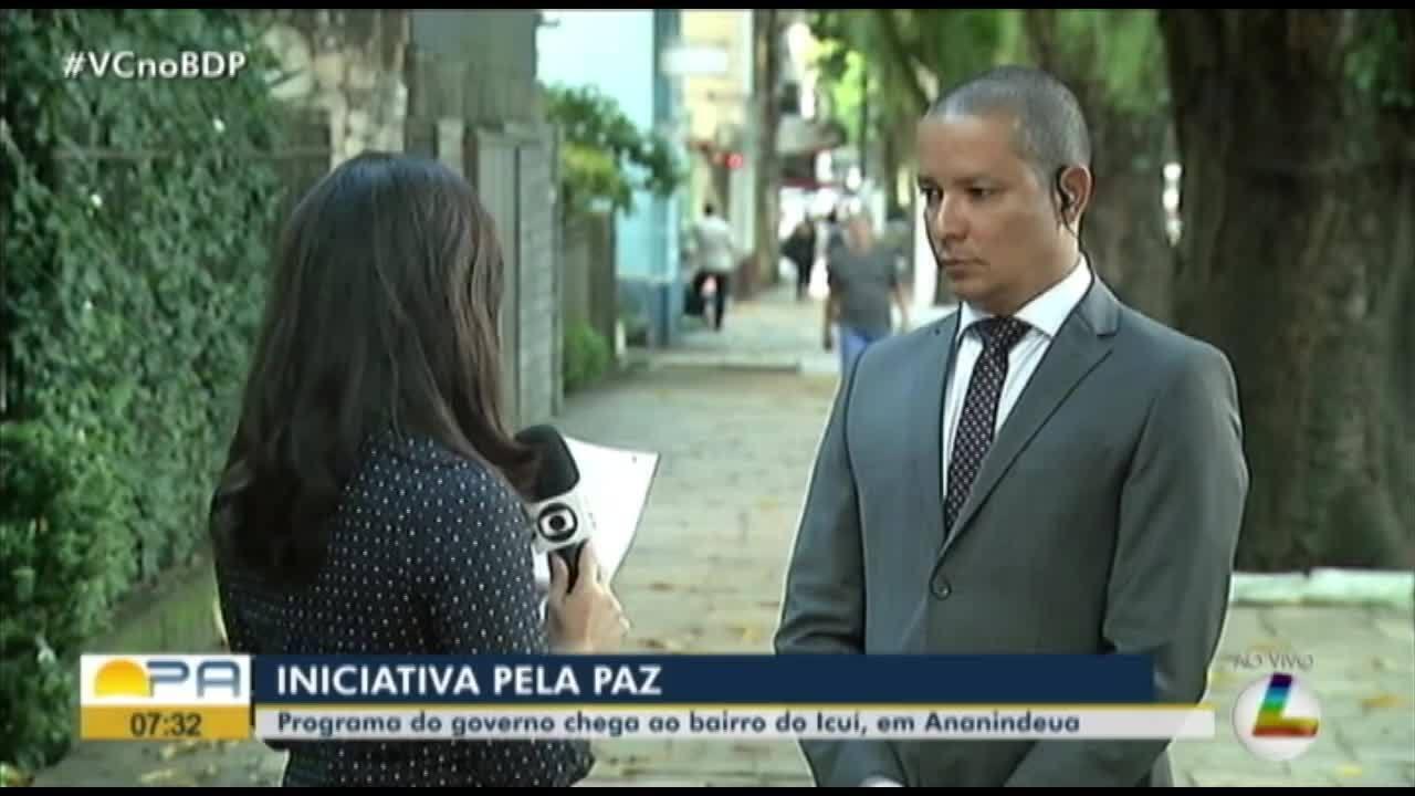 Ando Preferindo Ter Paz Do: Governo Do PA Inclui Bairro Do Icuí, Em Ananindeua, No