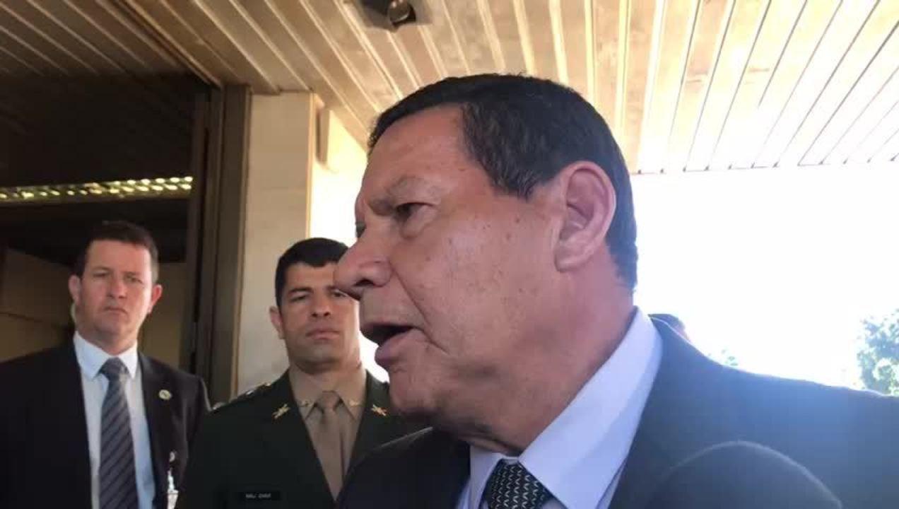 Mourão disse que sargento da FAB flagrado com cocaína era 'mula qualificada' do tráfico