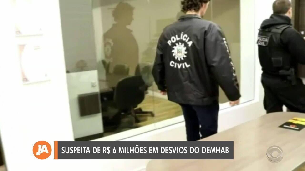 Operação policial investiga suspeita de desvio de R$ de 6 milhões no Demhab