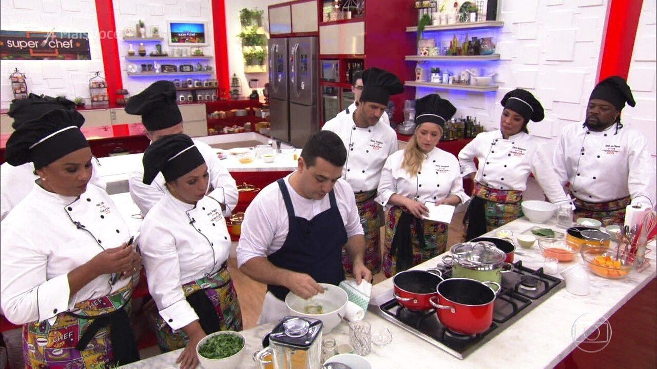 Workshop de cozinha contemporânea com o chef Rafa Costa e Silva