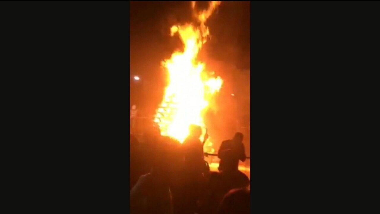 Prefeito de Osasco se queima após acidente com fogueira