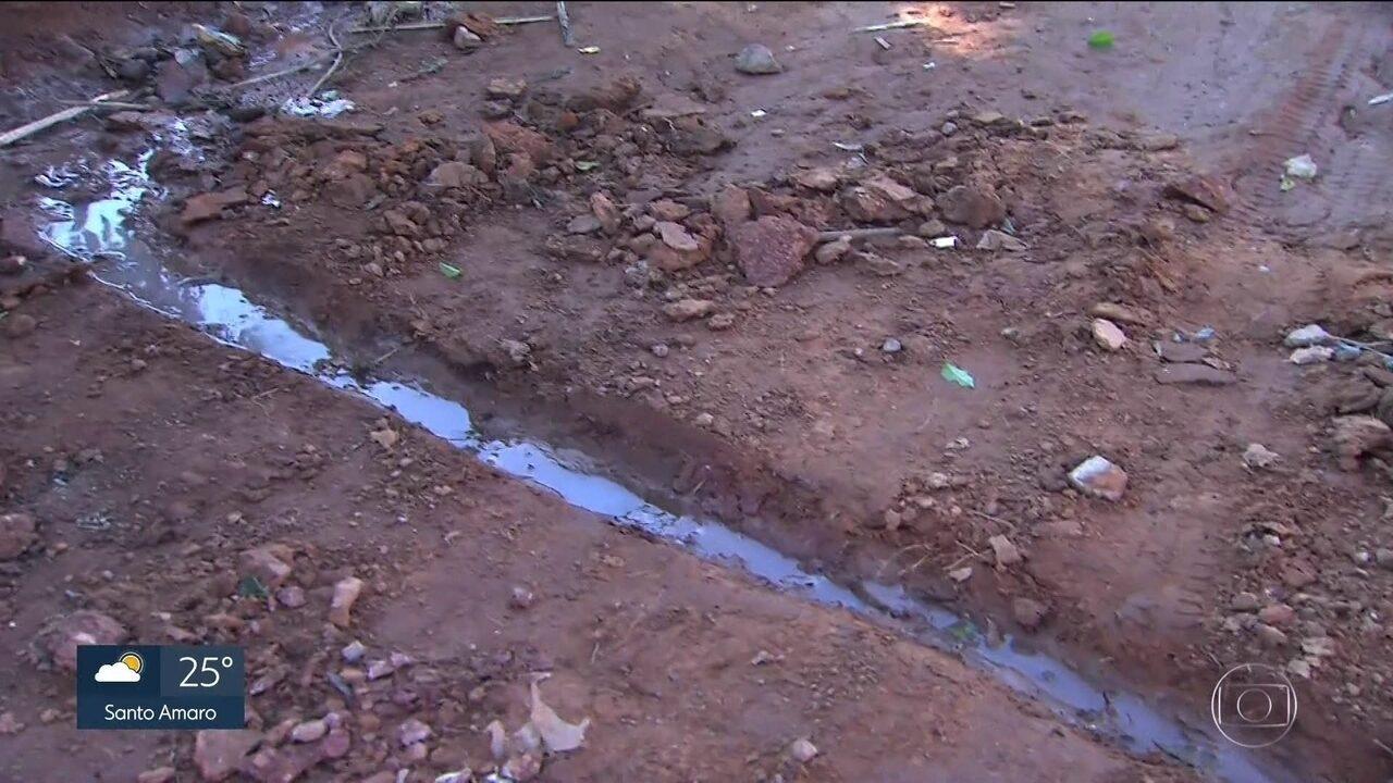 Números revelam falta de saneamento básico