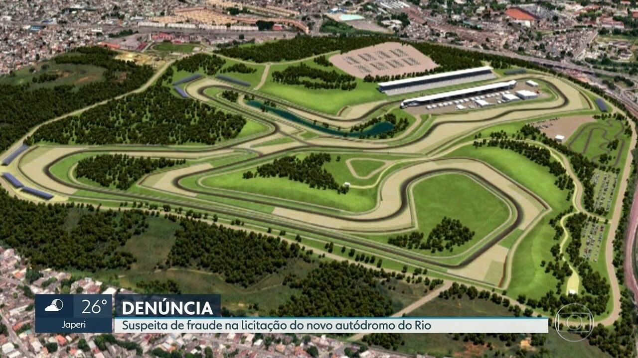 Suspeita de fraude na licitação do novo autódromo do Rio