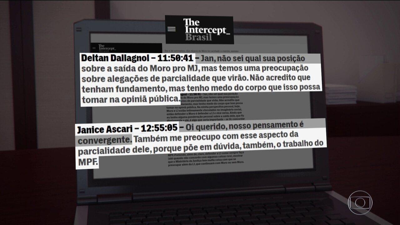 Procuradores teriam criticado ida de Moro para o Ministério da Justiça, segundo site