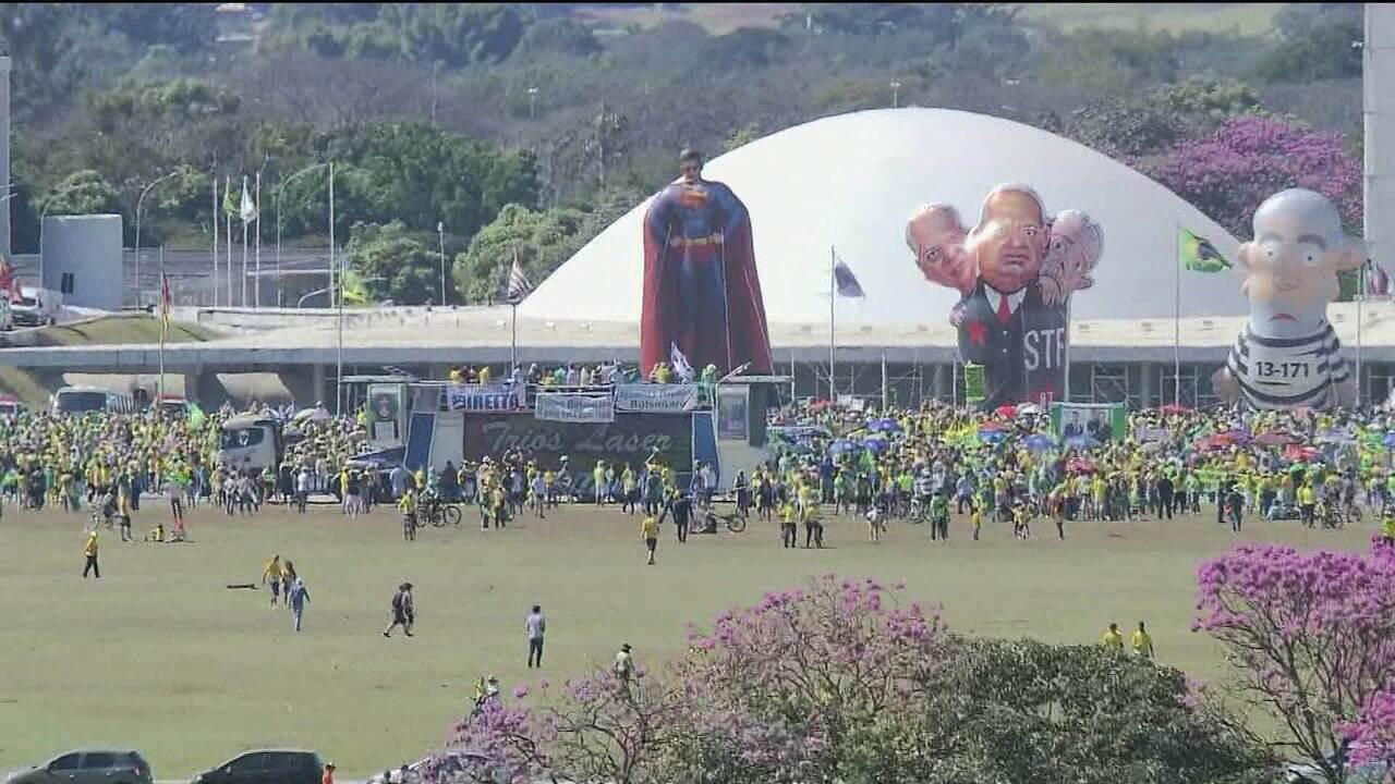 Rio e Brasília têm manifestações em defesa de Moro e da Operação Lava Jato