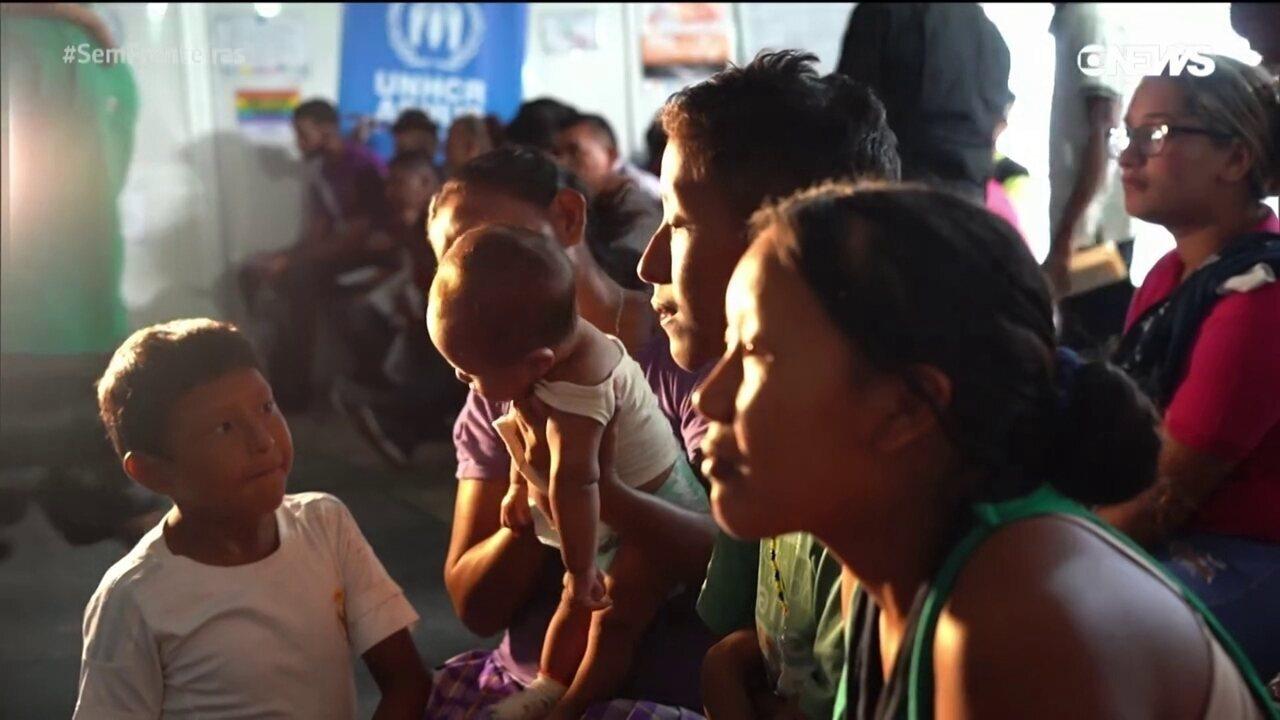 Veja a situação dos refugiados da Venezuela no Brasil