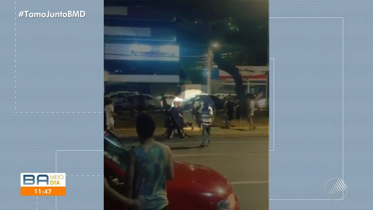 Vídeo mostra agressão a jovem de 19 anos, no bairro de Ondina; veja as imagens