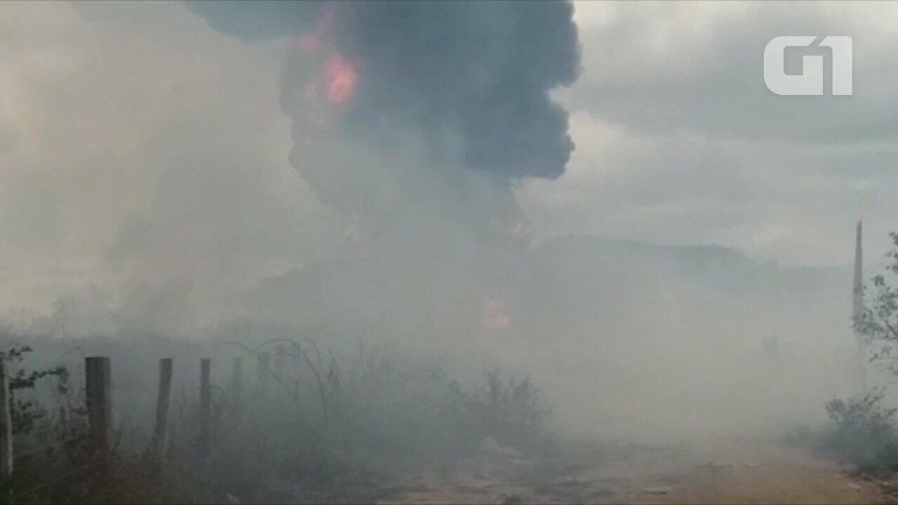 Caminhão-tanque do Ibama pega fogo