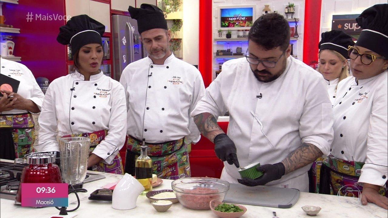Workshop Carne Moída Suína