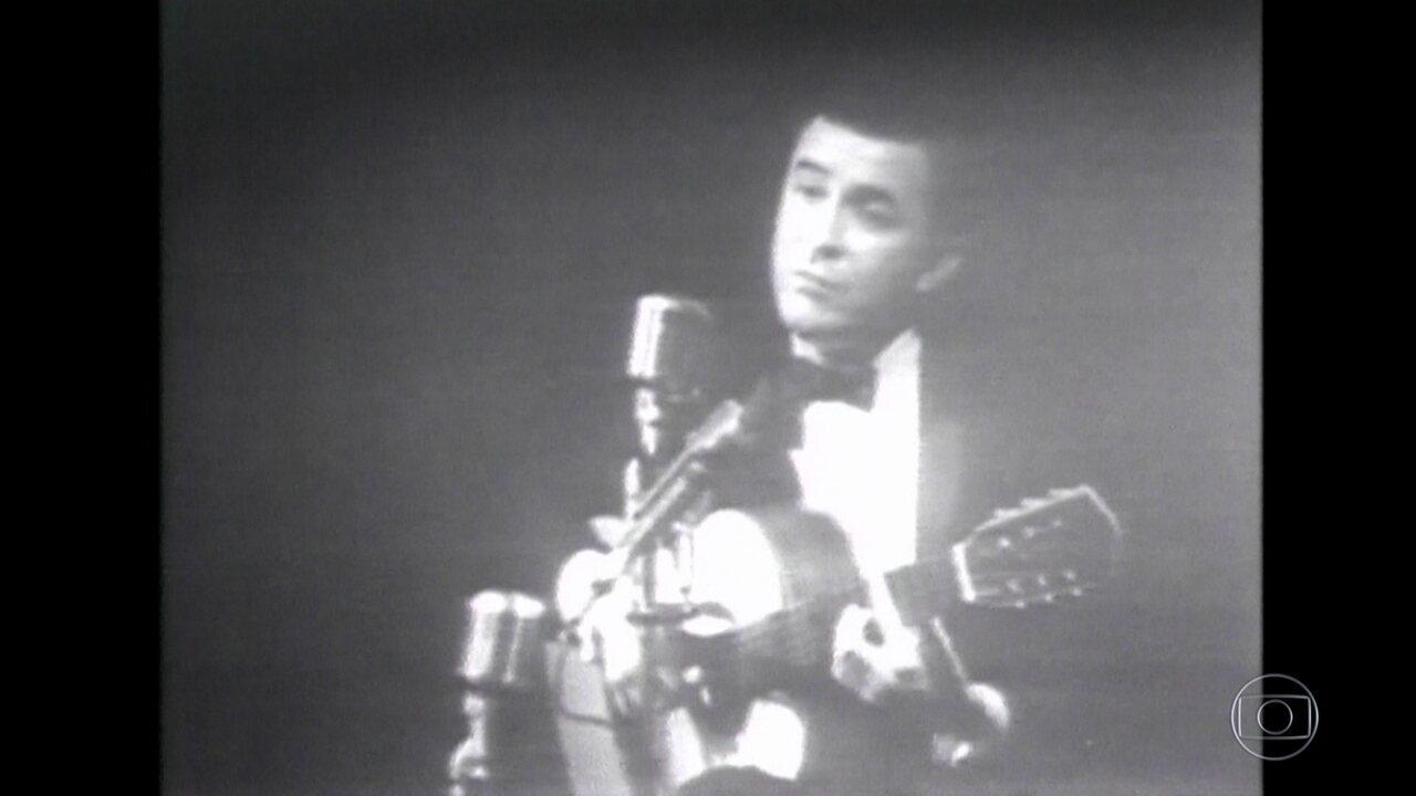 Vencedor do Grammy, João Gilberto começou a fazer sucesso em Nova York nos anos 60