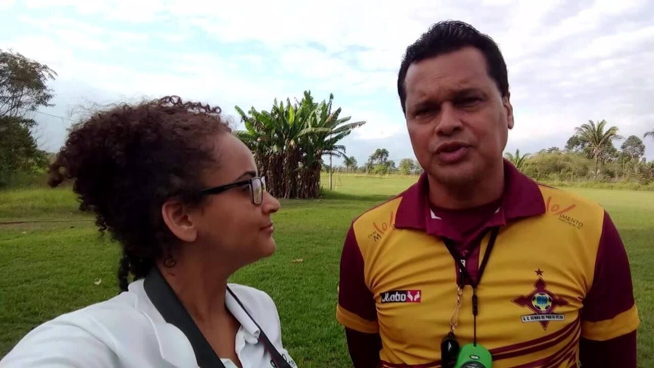 Copa Verde: Bebeto Amorim analisa primeira semana de treino da equipe do Genus