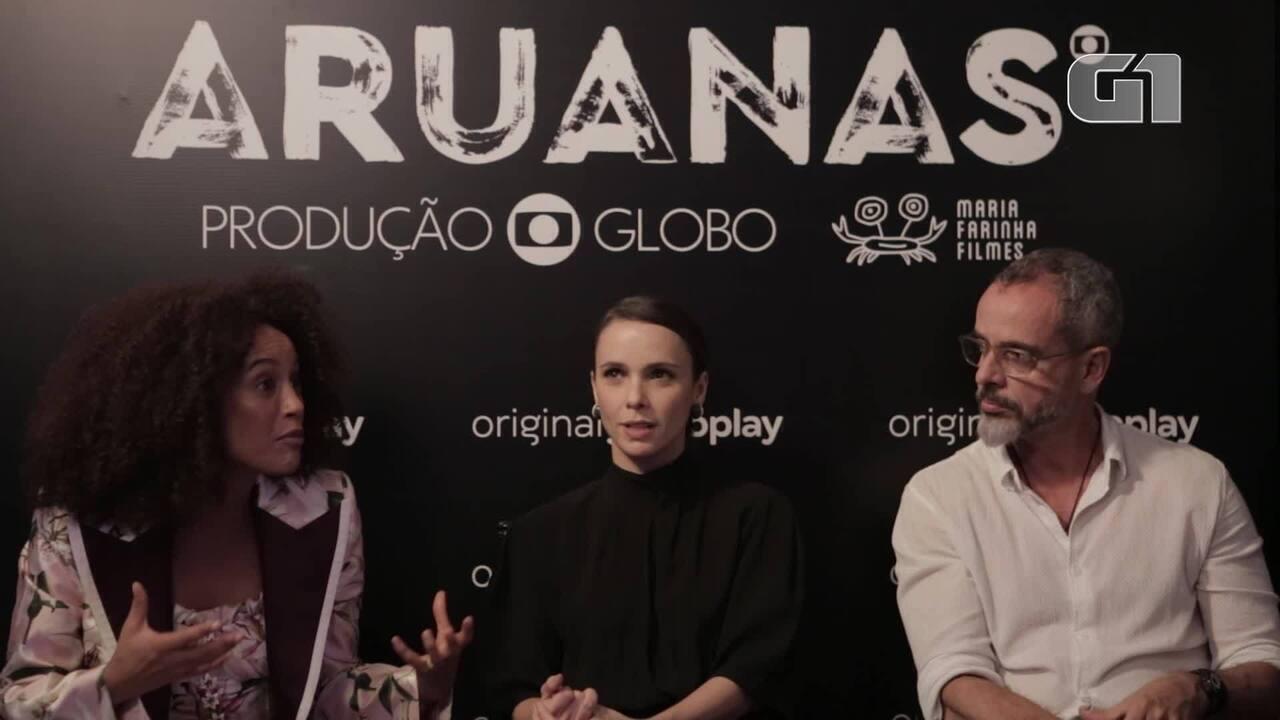 'Aruanas': Taís Araújo e Débora Falabella comentam papéis e experiência na Amazônia