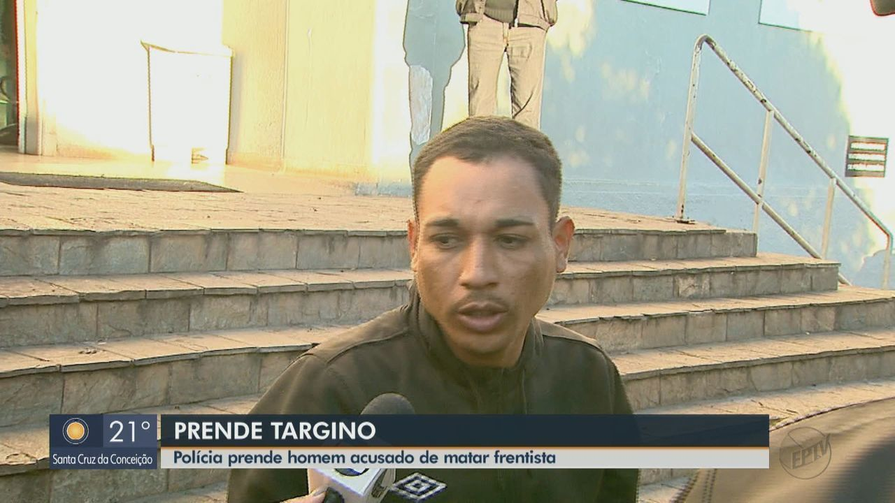 Polícia prende homem acusado de matar frentista de Itirapina em Ribeirão Preto