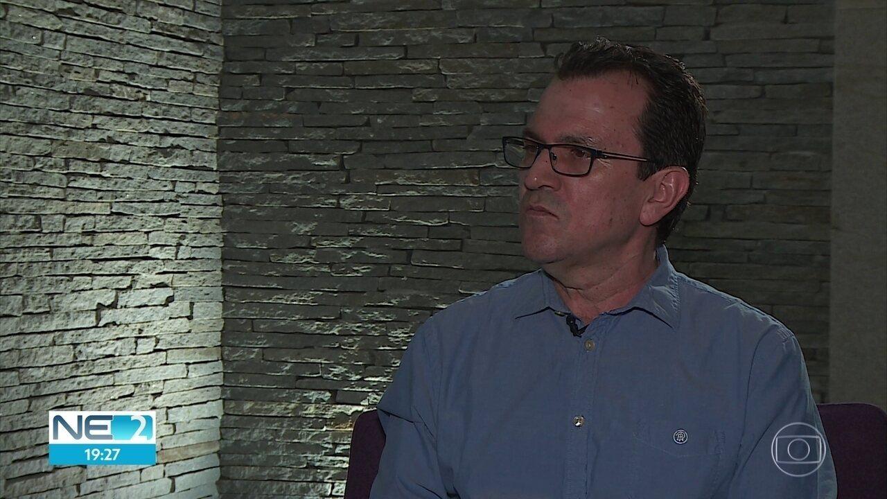 Ex-prefeito de Medelín, na Colômbia, Alon fala sobre combate à violência em Pernambuco