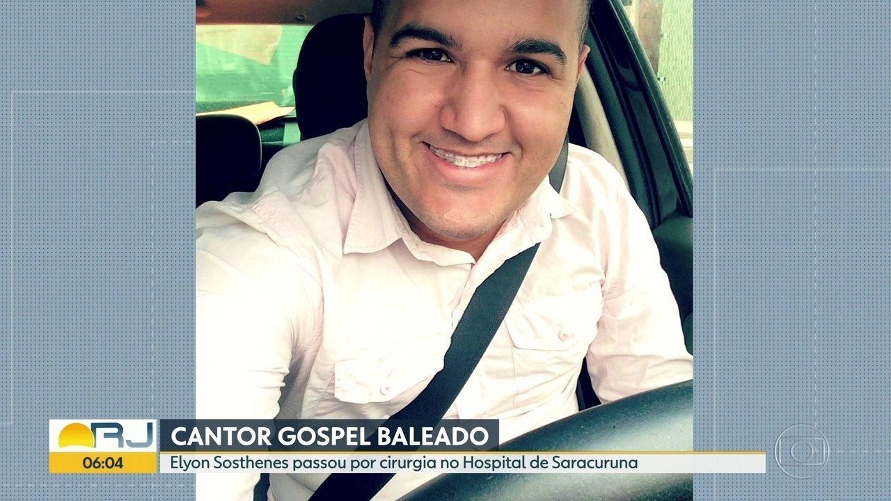 Cantor gospel é baleado na cabeça durante tentativa de assalto em Duque de Caxias