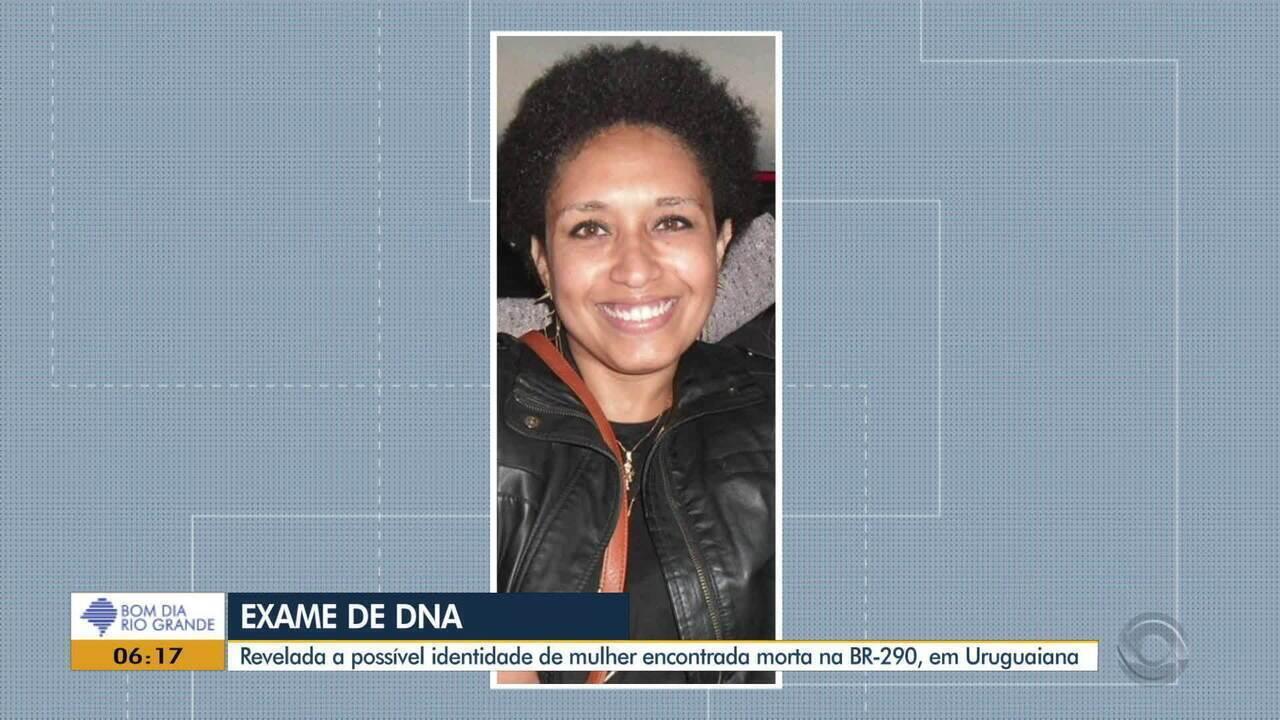 Exame de DNA aponta possível identidade de mulher encontrada morta na BR-290