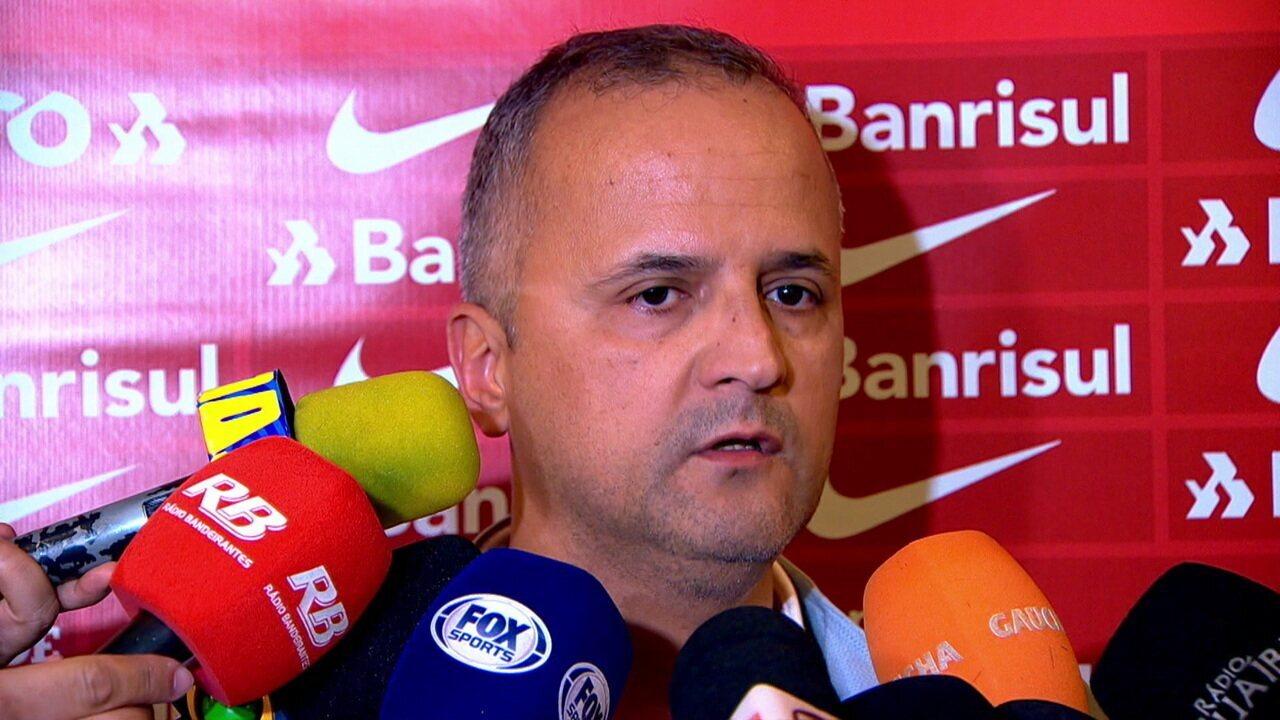Vice de futebol do Internacional diz que dirigentes foram ameaçados de morte no Estádio do Palmeiras