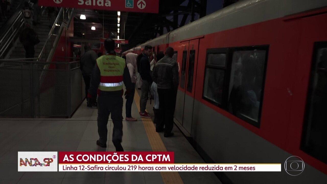 O Anda SP fala sobre os problemas nas linhas de trem da CPTM