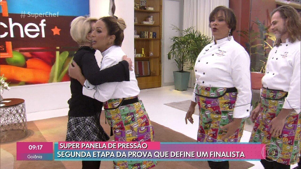 Ana Maria recebe os semifinalistas do 'Super Chef Celebridades 2019'