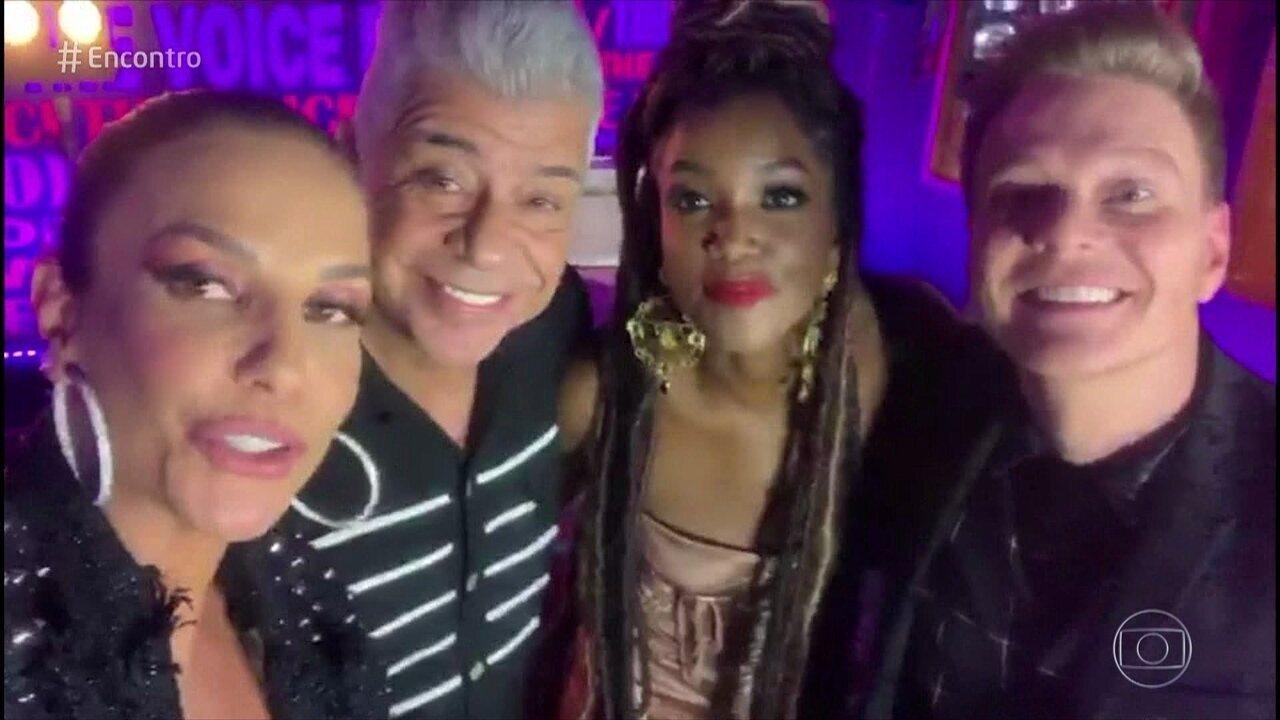 Técnicos do 'The Voice Brasil' se apresentam ao vivo no Gshow nesta quinta e anunciam a novidade no 'Encontro'