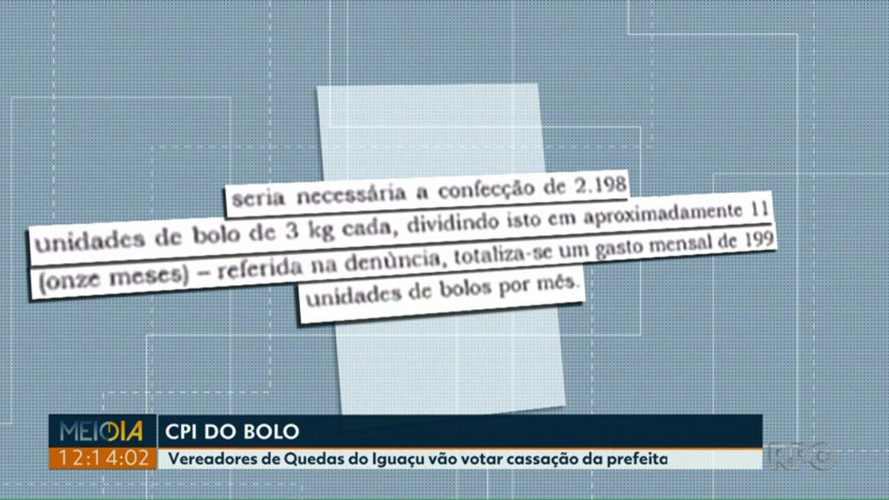 Câmara de Quedas do Iguaçu vota amanhã pedido de cassação da prefeita