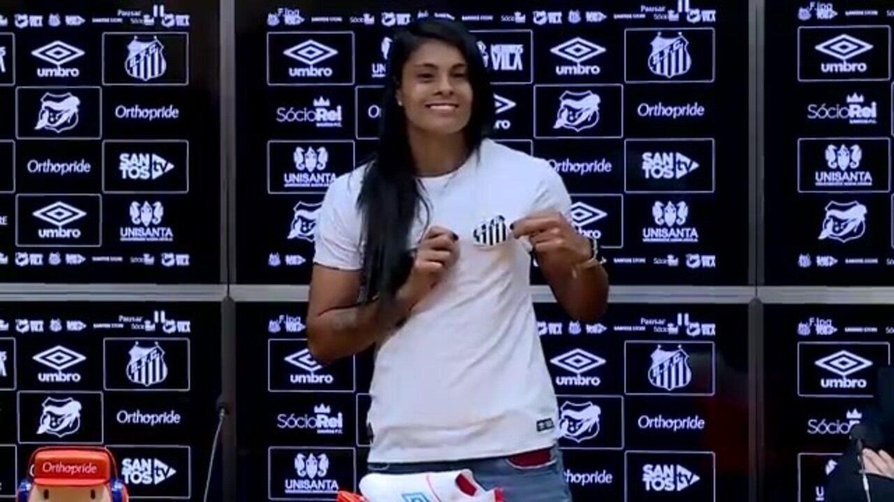 Veja como foi a apresentação de Sole Jaimes no Santos