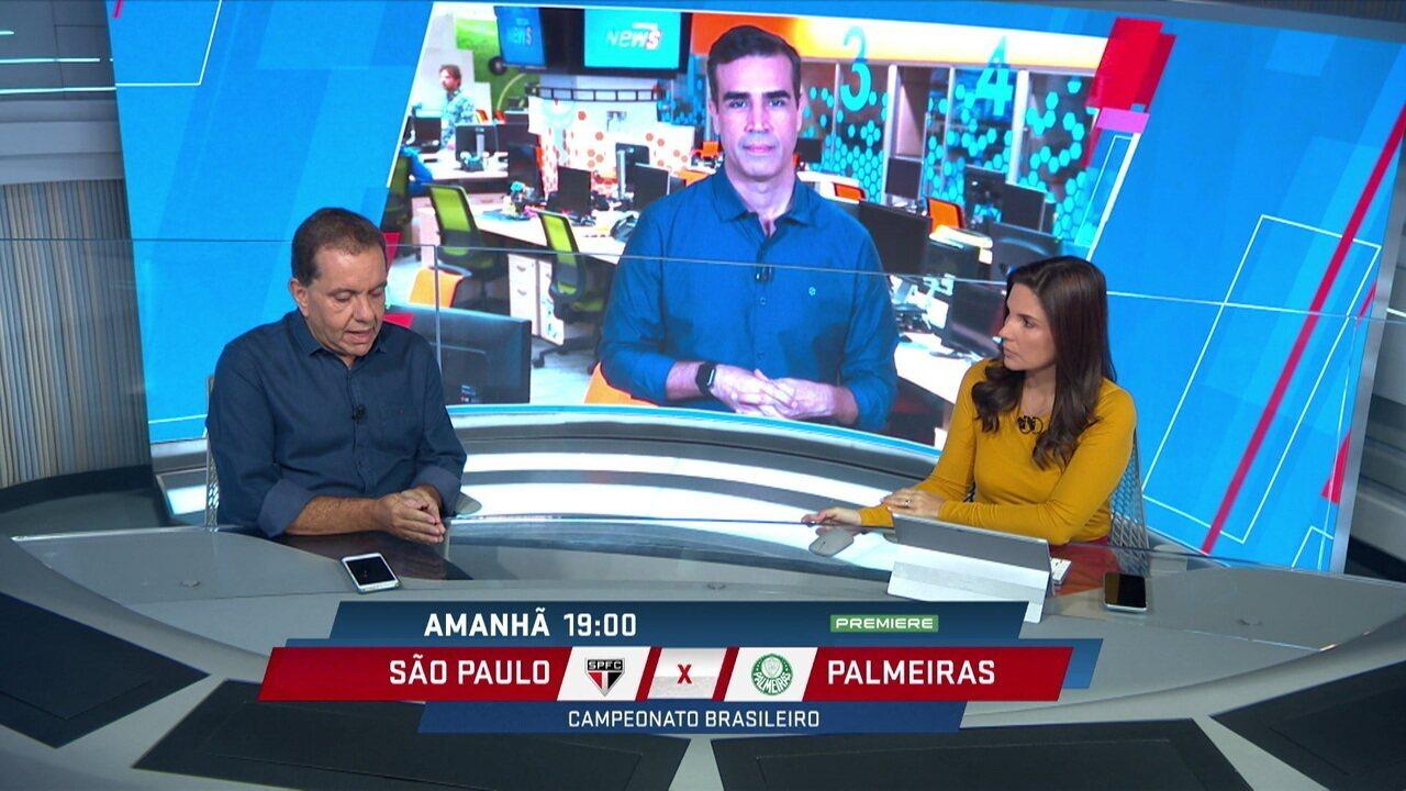 Alê Oliveira analisa como foi a parada da Copa América para São Paulo e Palmeiras