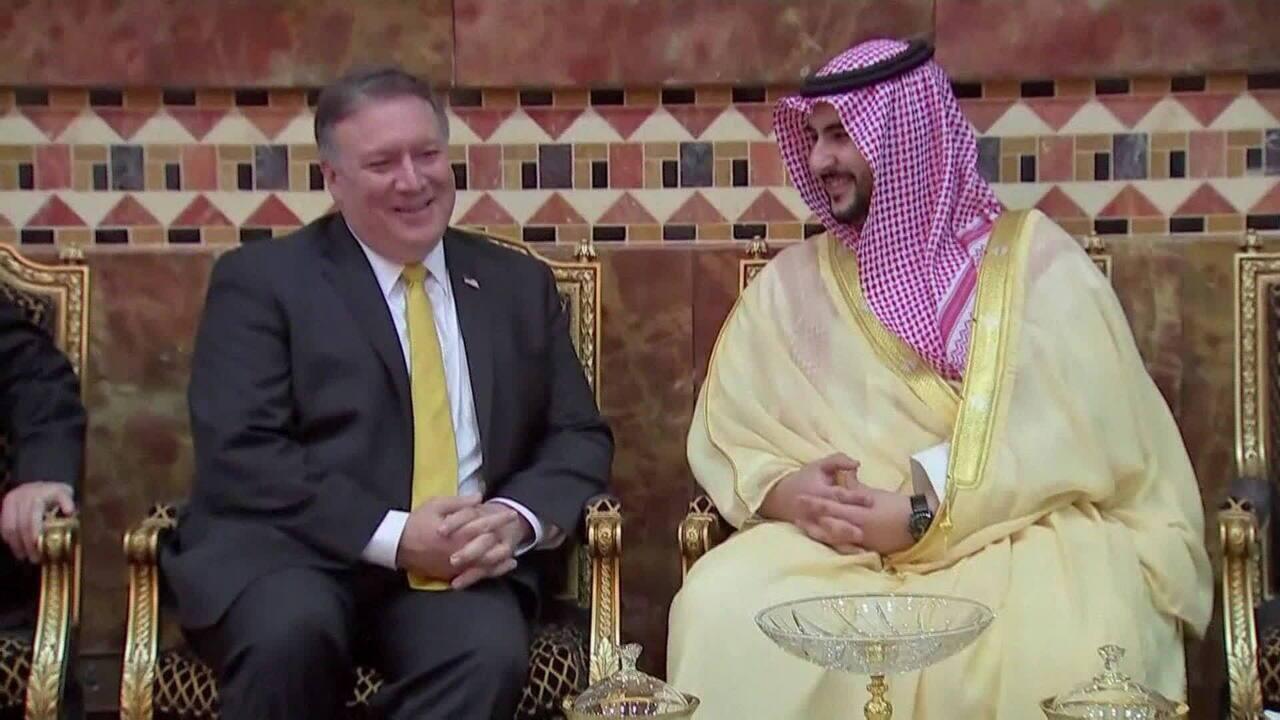 Apenas rei saudita nomeou filho como embaixador nos Estados Unidos