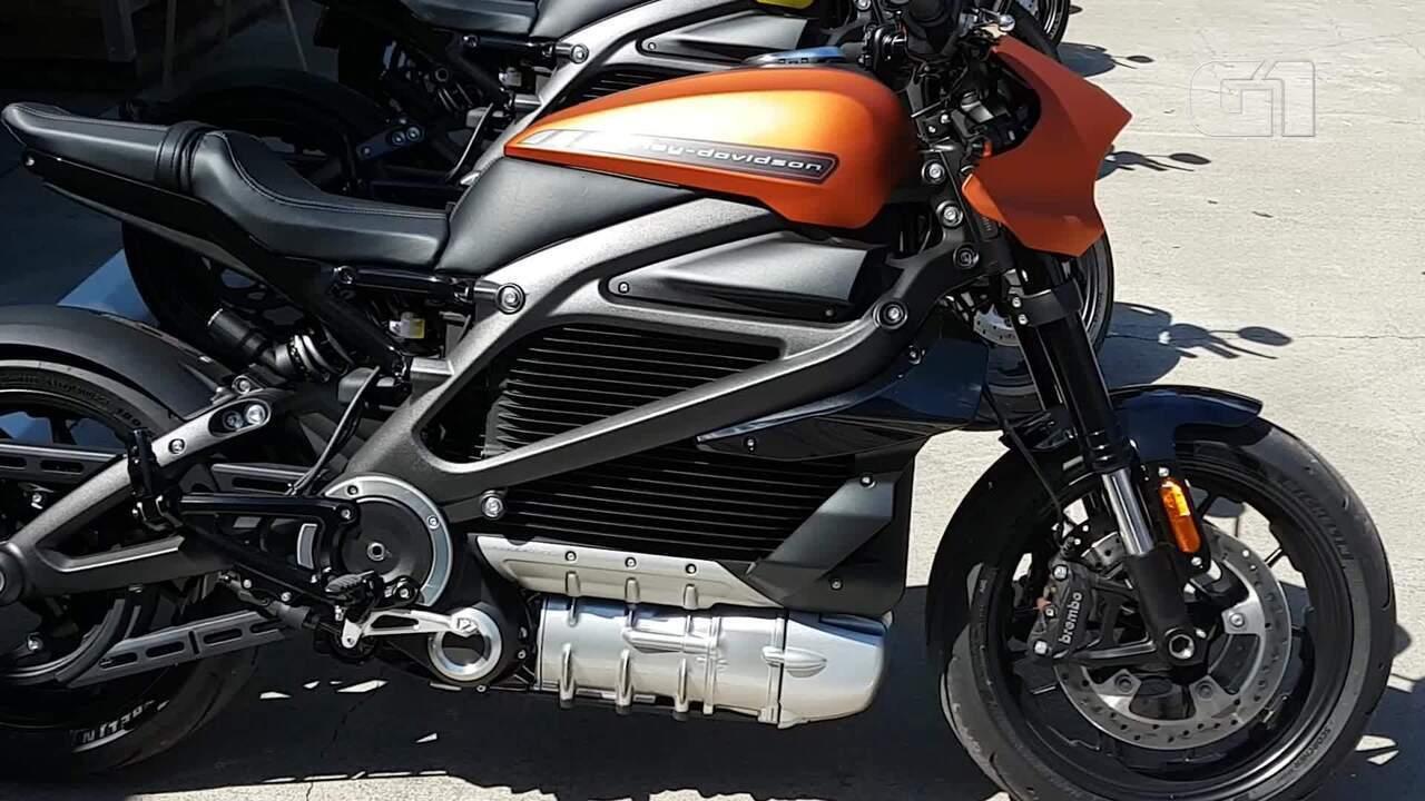 Veja como é a primeira moto elétrica da Harley-Davidson
