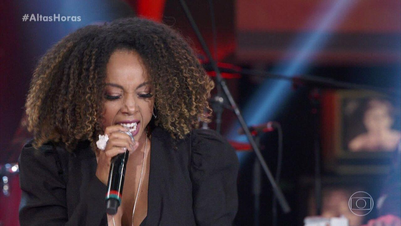 Negra Li canta 'Eu Sou Terrível' com Del Rey