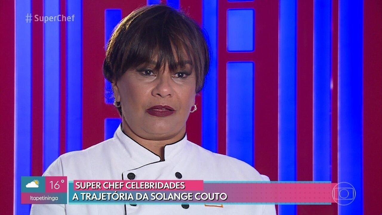 Relembre a trajetória de Solange Couto no 'Super Chef Celebridades 2019'