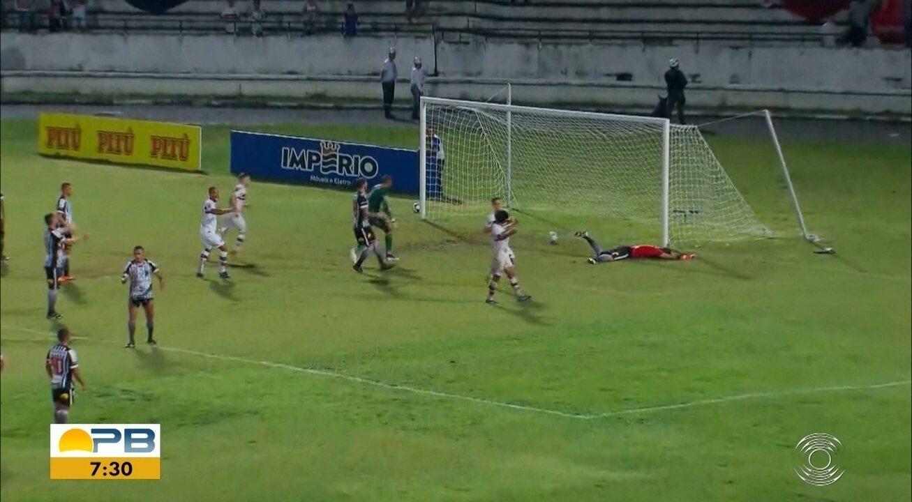 Veja como foi o empate entre Santa Cruz e Botafogo-PB, pela Série C