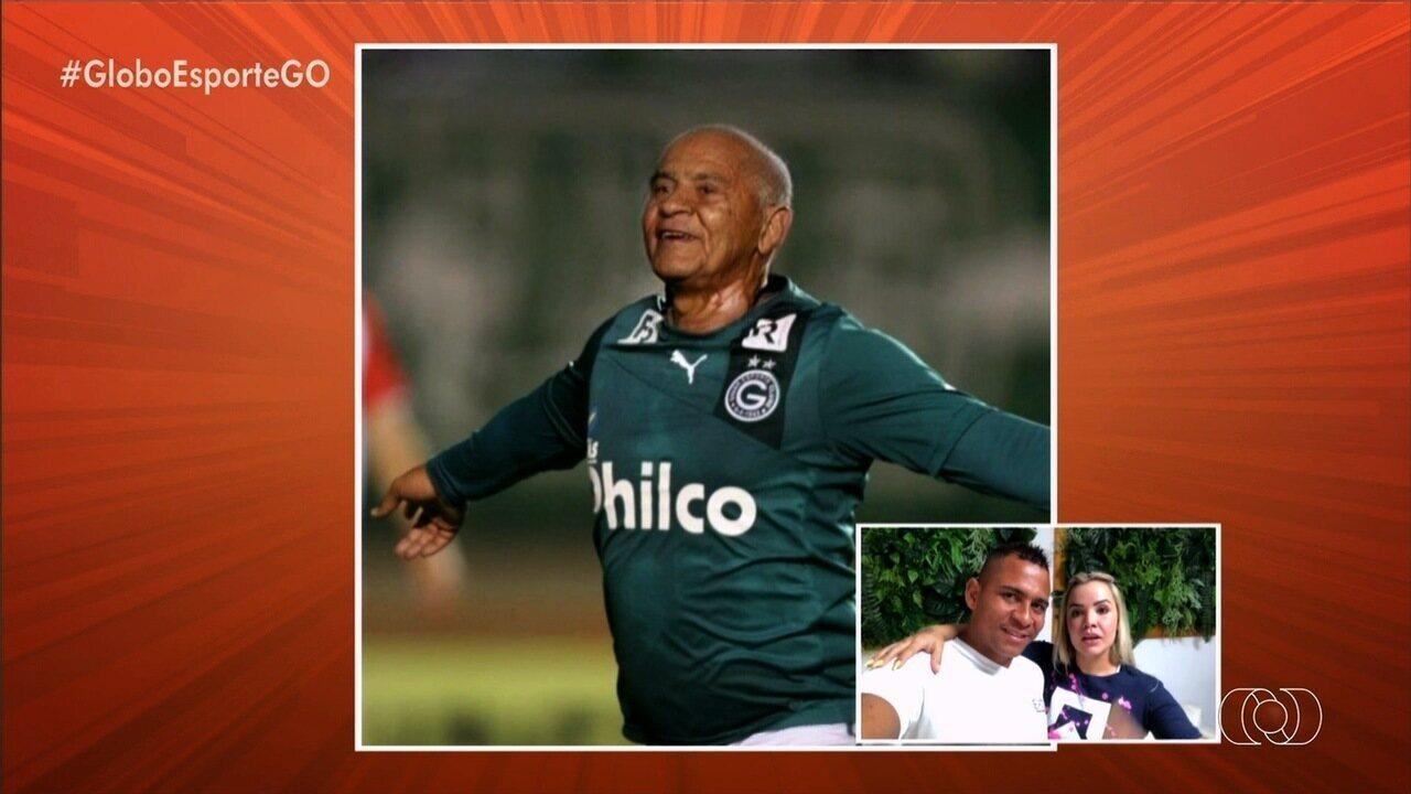 """Confira a versão """"velha"""" de personagens do futebol goiano"""