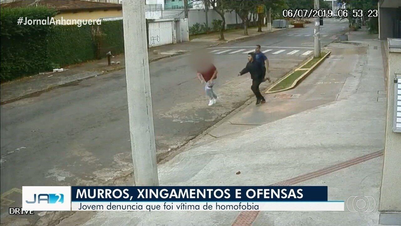 Jovem denuncia que foi agredido por ser homossexual, em Goiânia; veja vídeo
