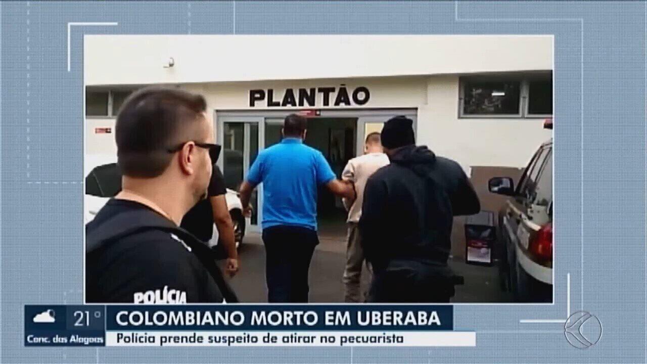 Suspeito de matar pecuarista colombiano em Uberaba é preso em Embu das Artes, SP