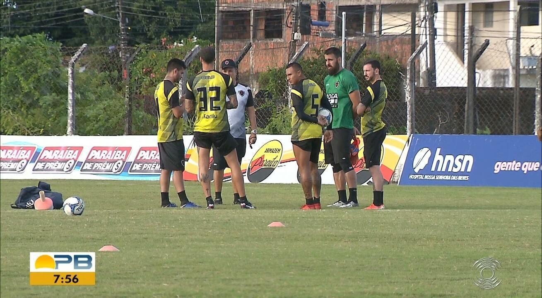 Confira como anda a preparação do Botafogo-PB para o duelo contra o ABC