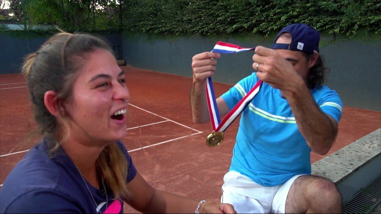 Encontros do Pan: Ouro nos jogos de Santo Domingo, Fernando Meligeni dá dicas para sobrinha Carolina