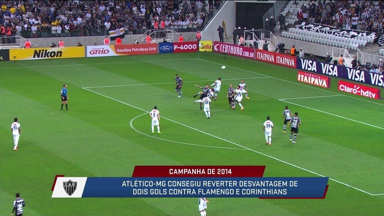 News Relembra as duas viradas do Galo na campanha do título da Copa do Brasil em 2014