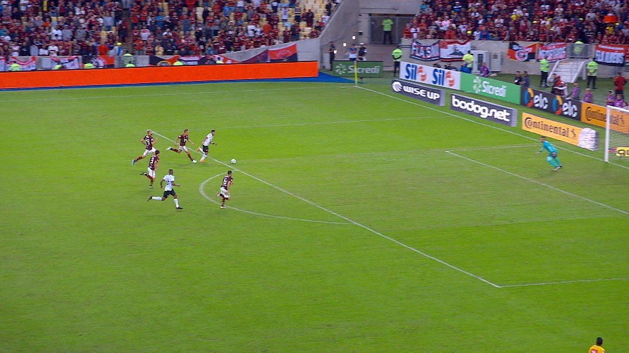 Melhores momentos de Flamengo 1 (1) x (3) 1 Athletico-PR pelas quartas de final da Copa do Brasil
