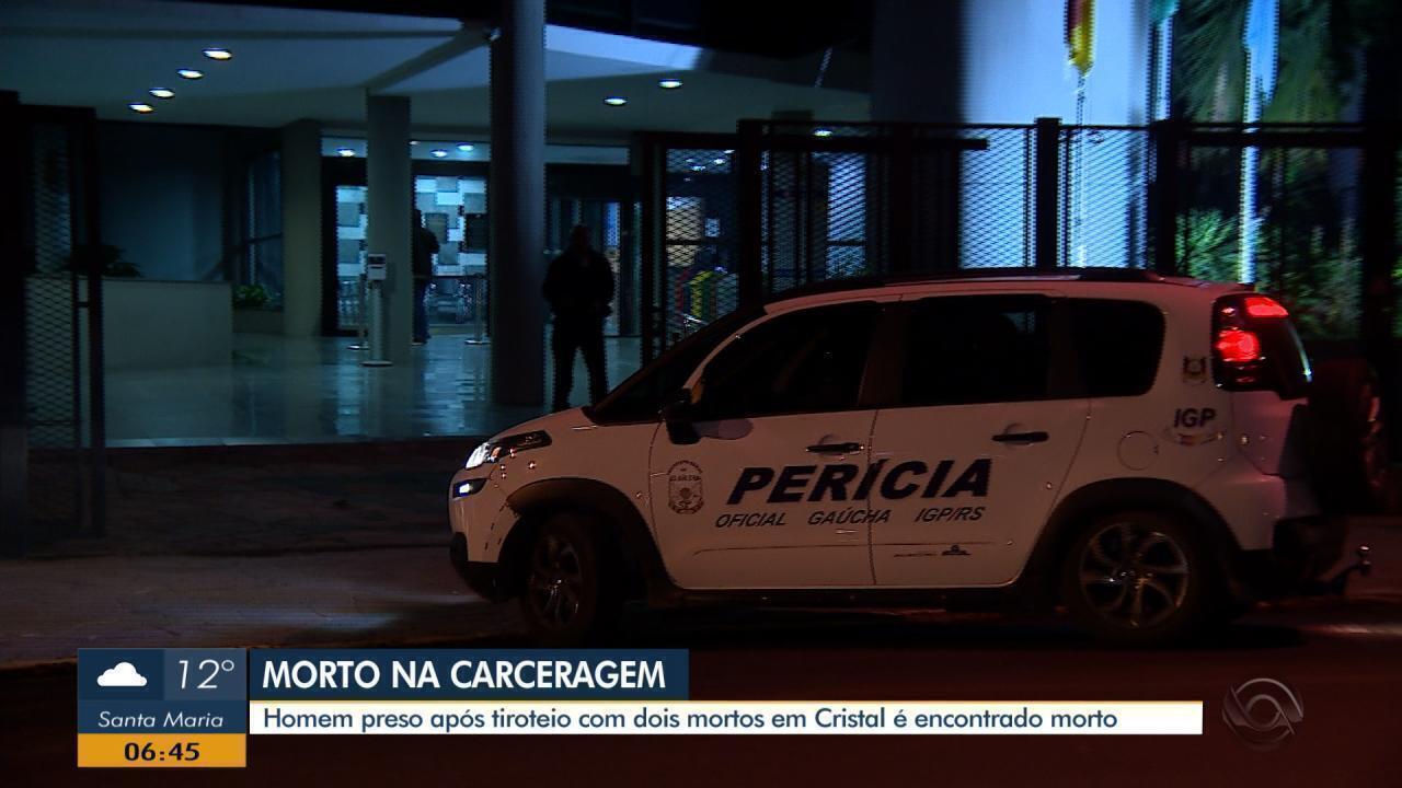 Homem preso após tiroteio com Polícia Federal em Cristal é encontrado morto