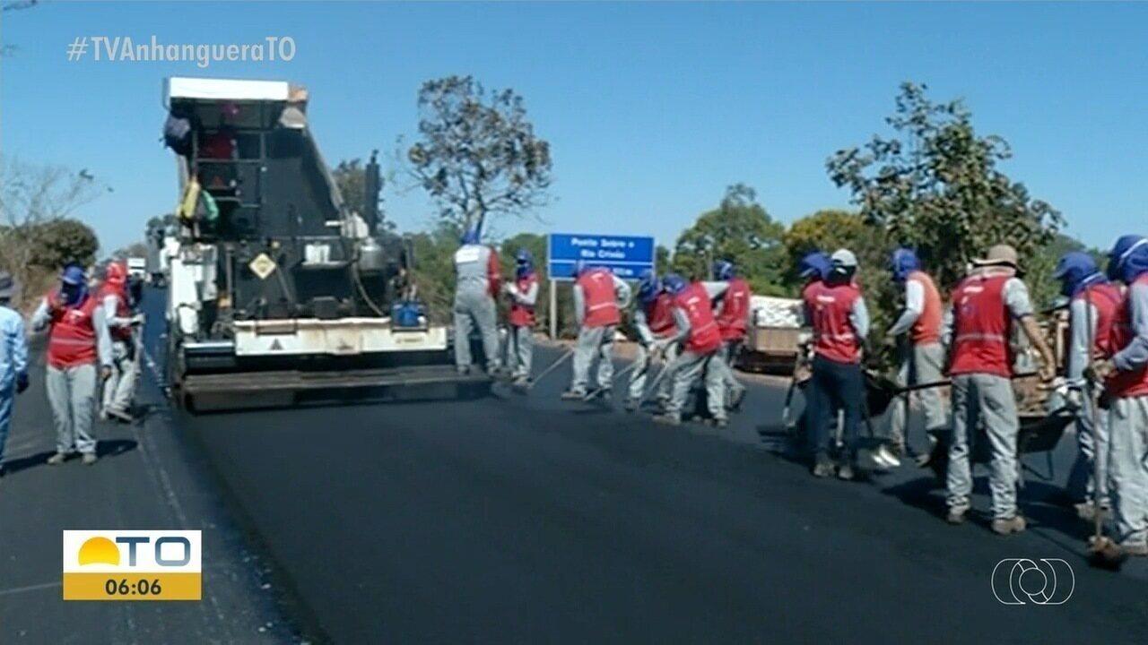 Asfalto ecológico feito de pneu é testado em três quilômetros da BR-153