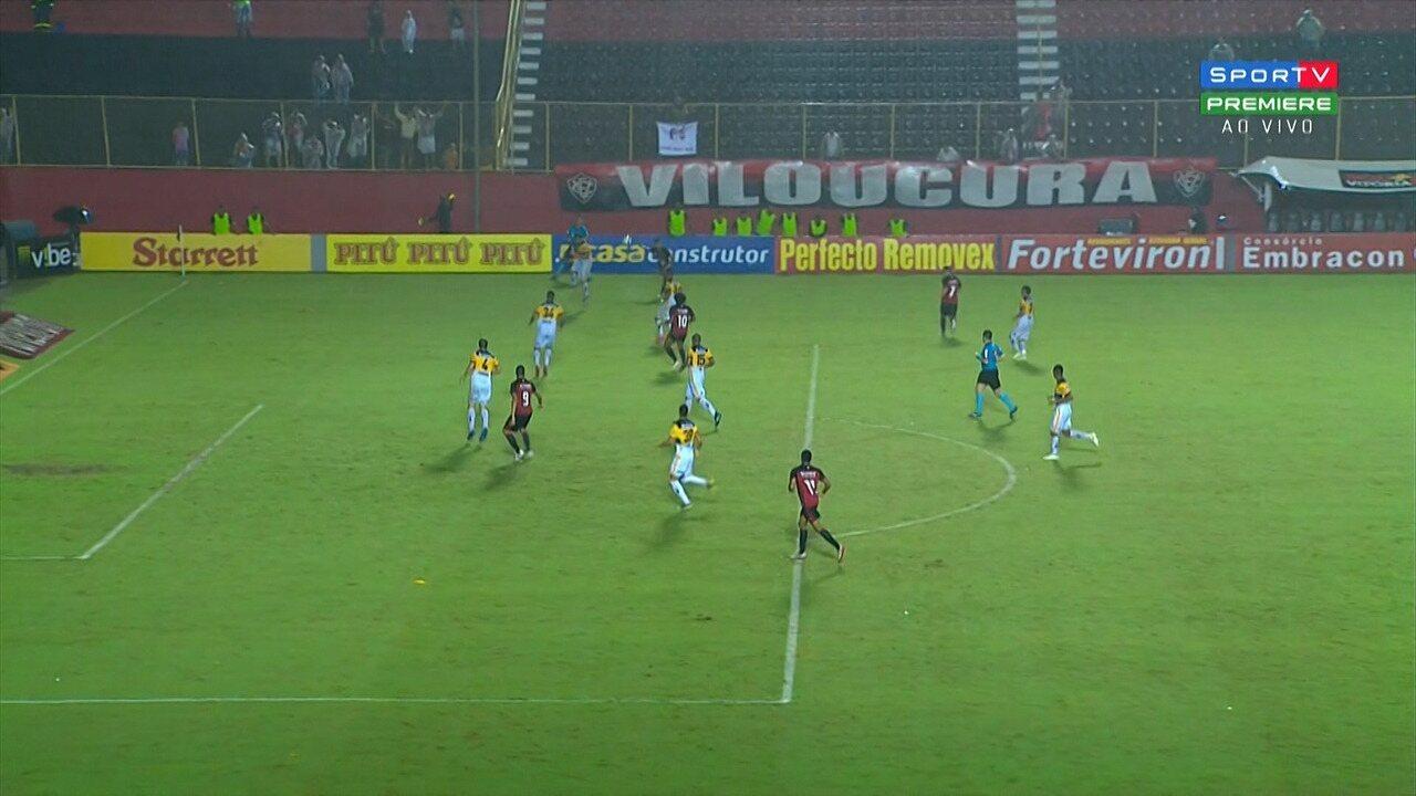 Confira os melhores momentos de Vitória 2 x 0 Criciúma pela 10ª rodada da Série B