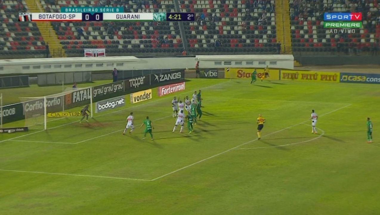 Os melhores momentos de Botafogo-SP 0x0 Guarani, pela 10ª rodada da Série B